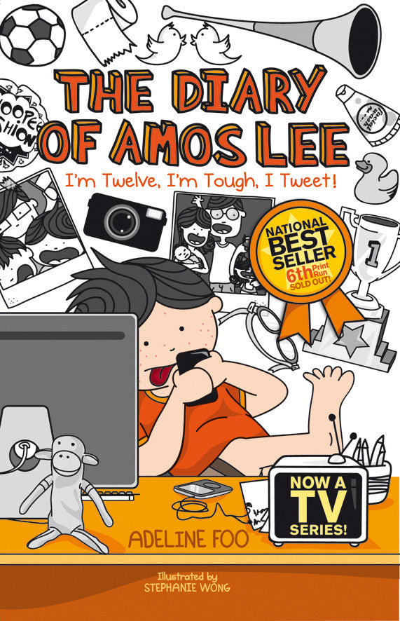 The Diary of Amos Lee: I'm Twelve, I'm Tough, I Tweet! (book 3)