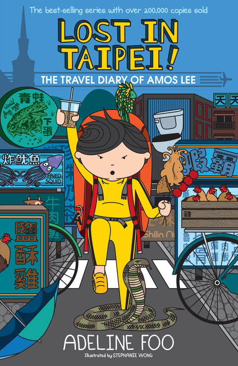 The Travel Diary of Amos Lee 1: Lost in Taipei!