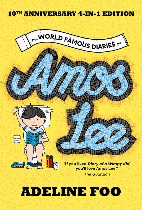 The World Famous Diaries of Amos Lee: 10th Anniversary 4-in-1 Edition