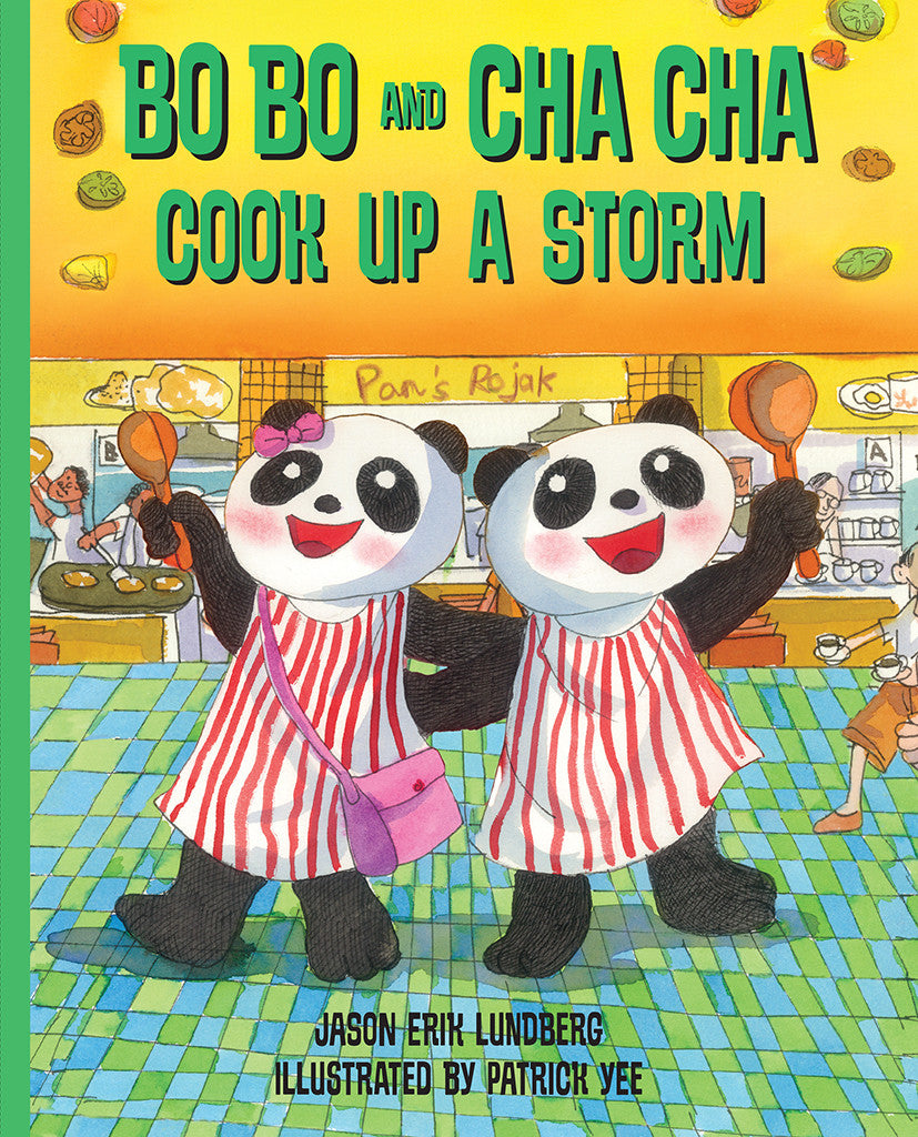 Bo Bo and Cha Cha Cook Up a Storm! (book 4)
