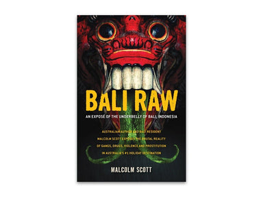 Bali Raw by Malcolm Scott bookcover