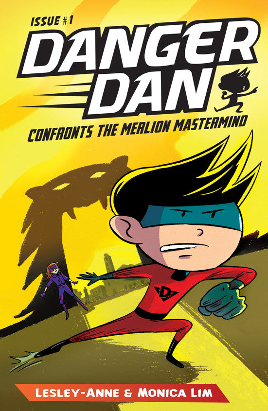 Danger Dan Confronts the Merlion Mastermind (book 1)