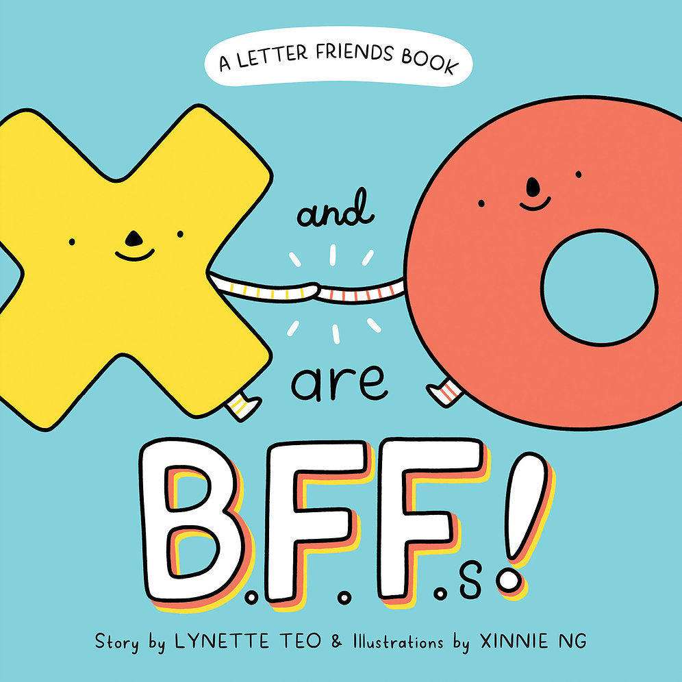 Letter Friends: X and O are BFFs!