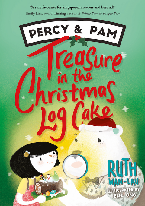Percy and Pam: Treasure in the Christmas Log Cake (book 3)