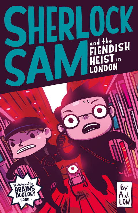Sherlock Sam and the Fiendish Heist in London (book 12)