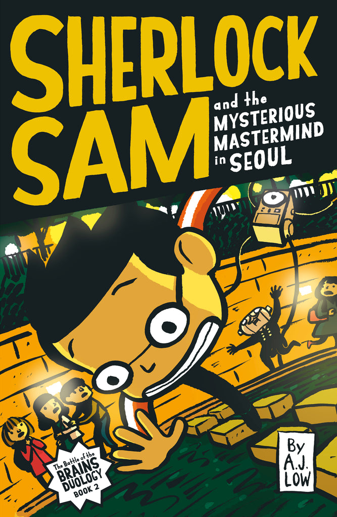 Sherlock Sam and the Mysterious Mastermind in Seoul (book 13)