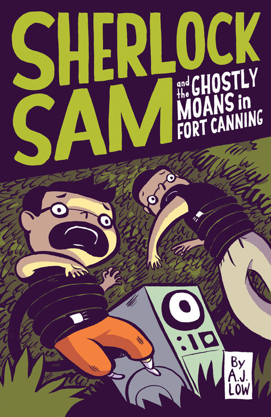 Sherlock Sam and the Ghostly Moans in Fort Canning (book 2)
