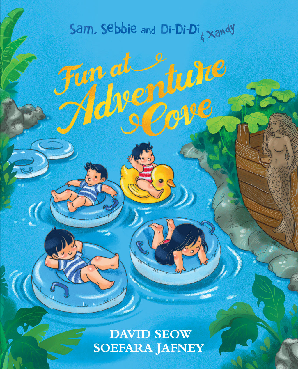 Sam, Sebbie and Di-Di-Di & Xandy: Fun at Adventure Cove (book 9)