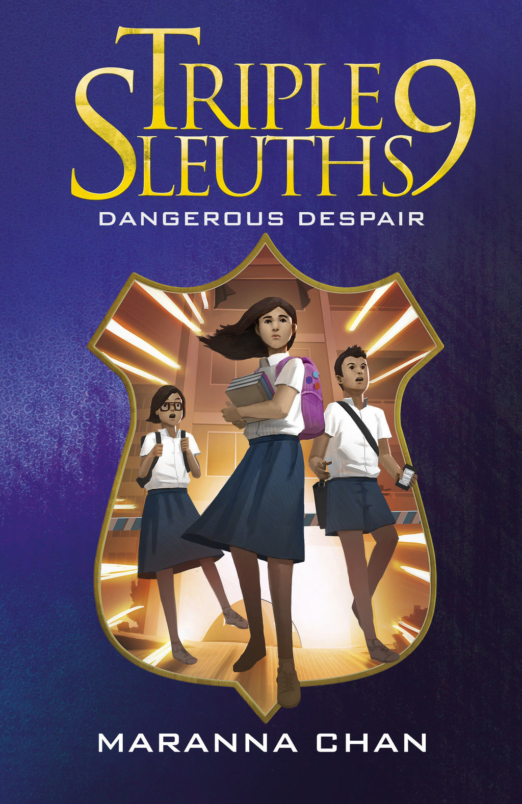 Triple Nine Sleuths: Dangerous Despair (book 2)