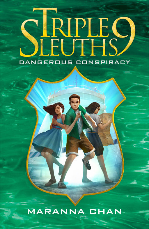 Triple Nine Sleuths: Dangerous Conspiracy (book 6)
