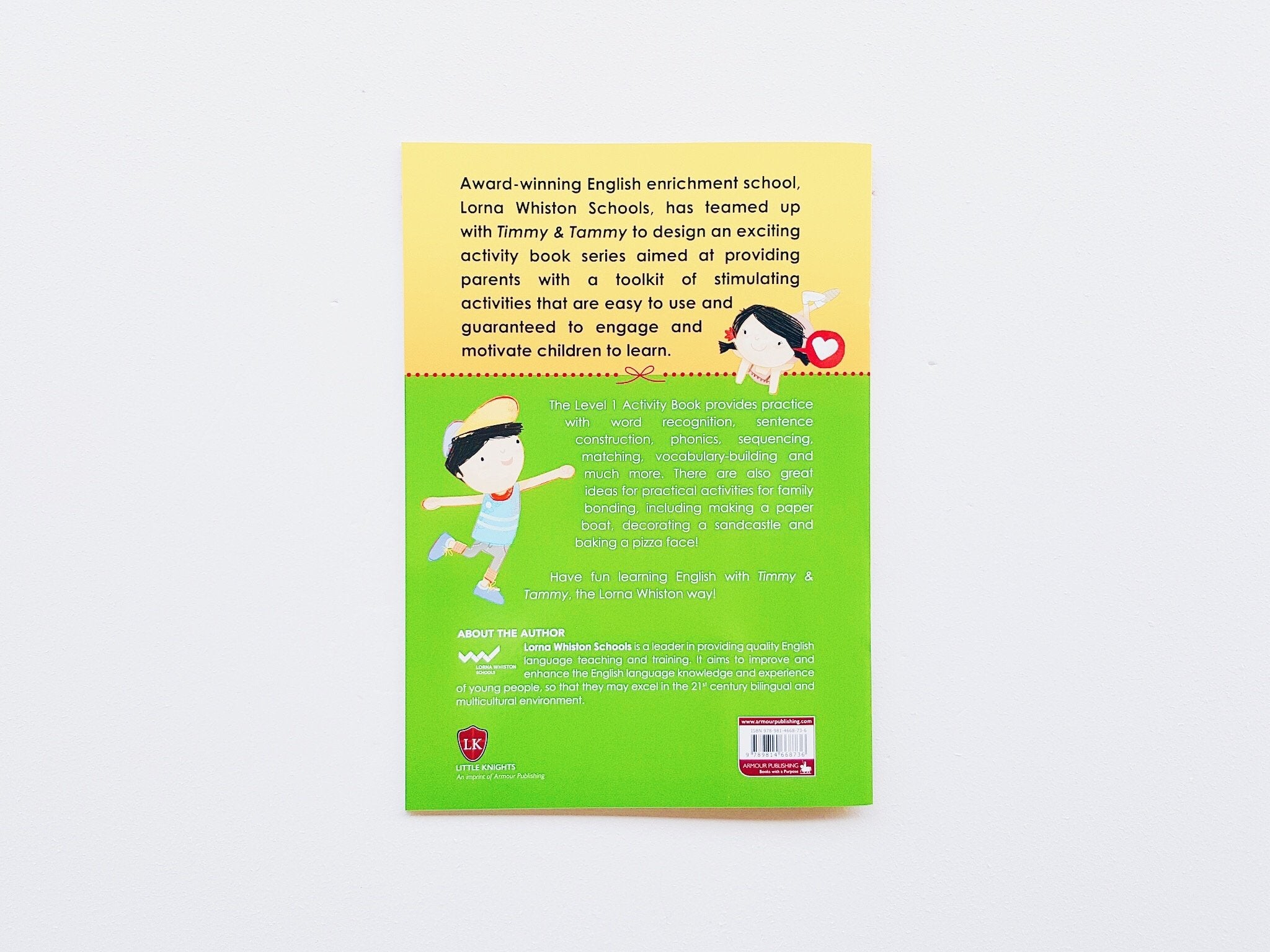 Timmy & Tammy Activity Book (Level 1) by Lorna Whiston Schools