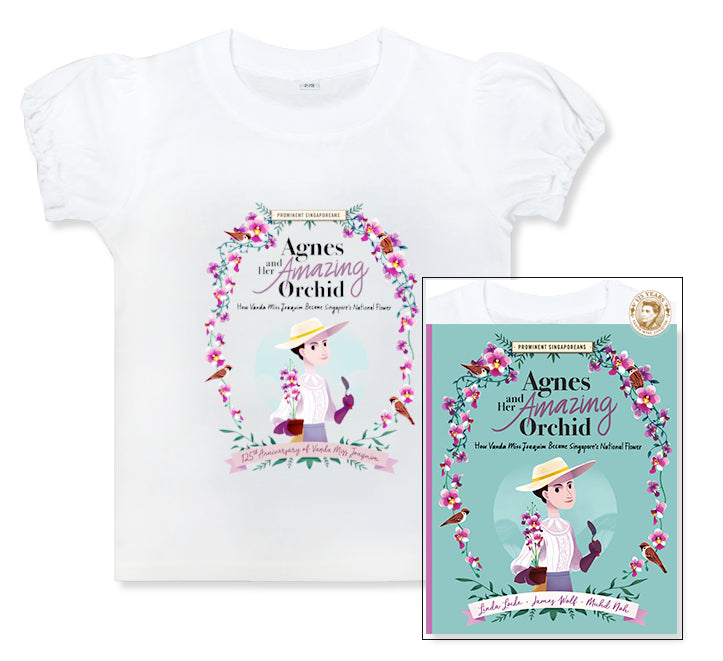 Vanda Miss Joaquim 125th Anniversary (Book & T-shirt Limited Edition Package)
