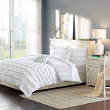 White Ruffle Duvet Set