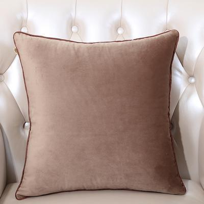 Velvet Cushion Cover (Brown)