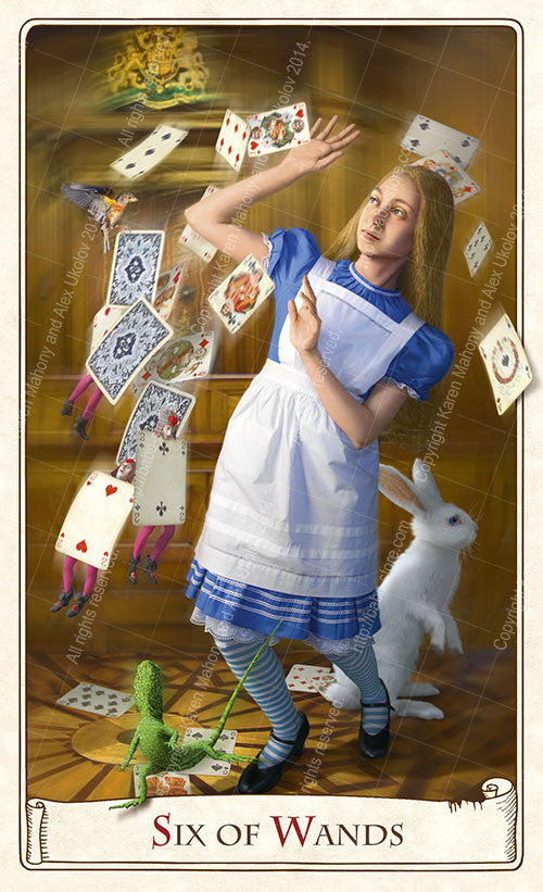 The Alice Tarot Limited Edition deck — Large format, limited to 500 only - Baba Store EU - 14