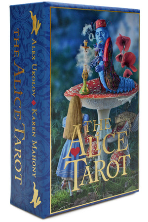 alice tarot, wonderland tarot, alice in wonderland, tarot cards, white rabbit, alice's adventures in wonderland