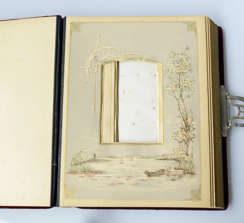 Art Nouveau photo album