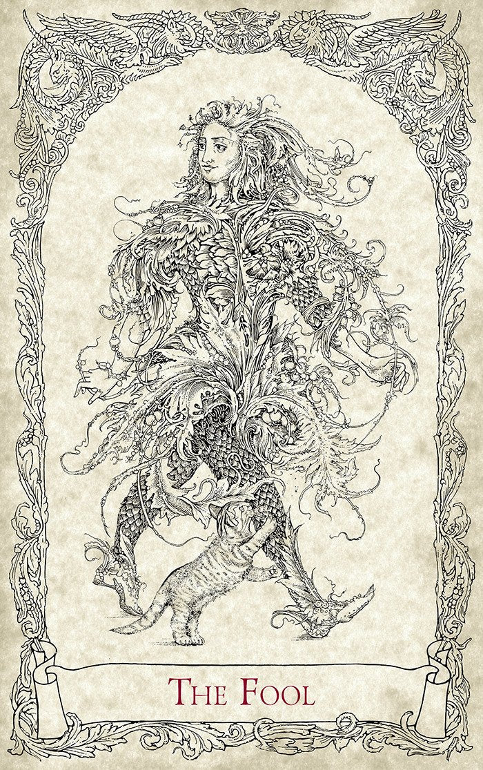 The Fool, The Mythical Creatures Tarot, Baba Studio