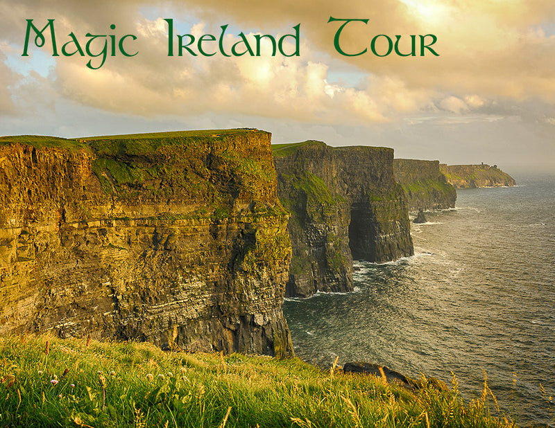 Magic Ireland Tour - Cliffs of Moher, Wild Atlantic Way, guided tours West & South of Ireland, Irish legend, mythology