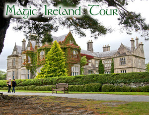 Magic Ireland Tour - Muckross House, Killarney, visit Kerry, guided tours Wild Atlantic Way, South of Ireland, Irish history