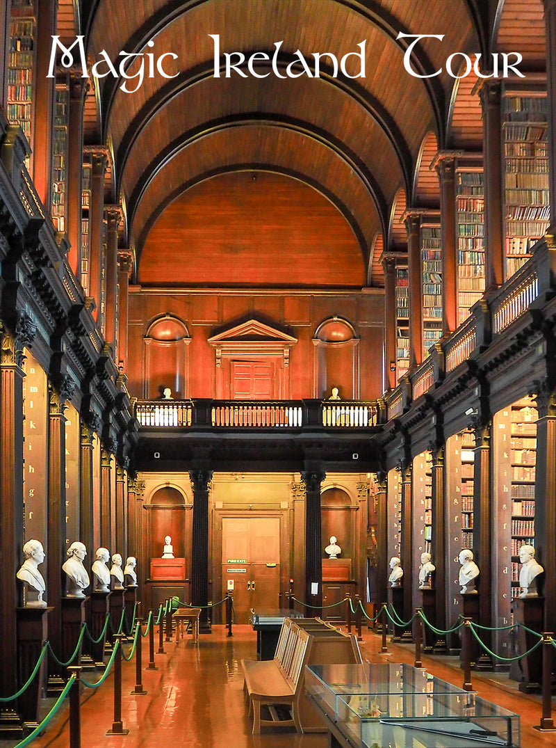 Visit Book of Kells, Trinity College Dublin, Magic Ireland Tour, Ancient East, Irish history