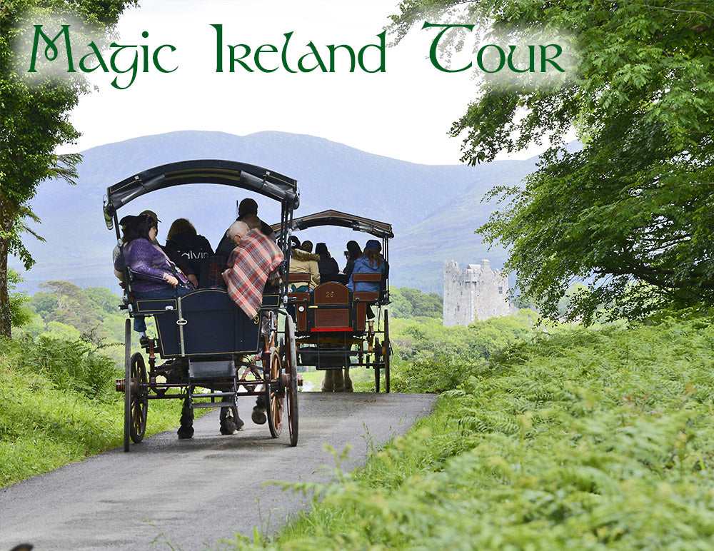 Magic Ireland, visit Killarney, Kerry, Wild Atlantic Way, Ross Castle, magical Ireland guided tours