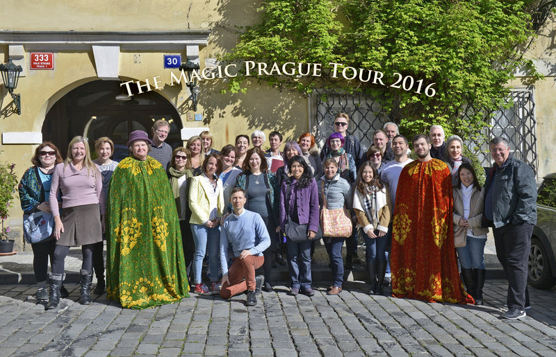 Tours by Baba Studio, guided tour of Magic Ireland, Magic Prague