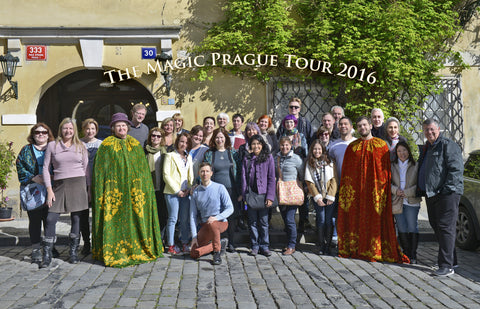 "Second Payment. ""Magic Prague"" a one week guided tour of the city of alchemy and enchantment. April 19-26, 2017. Booking payment for DOUBLE room occupancy."