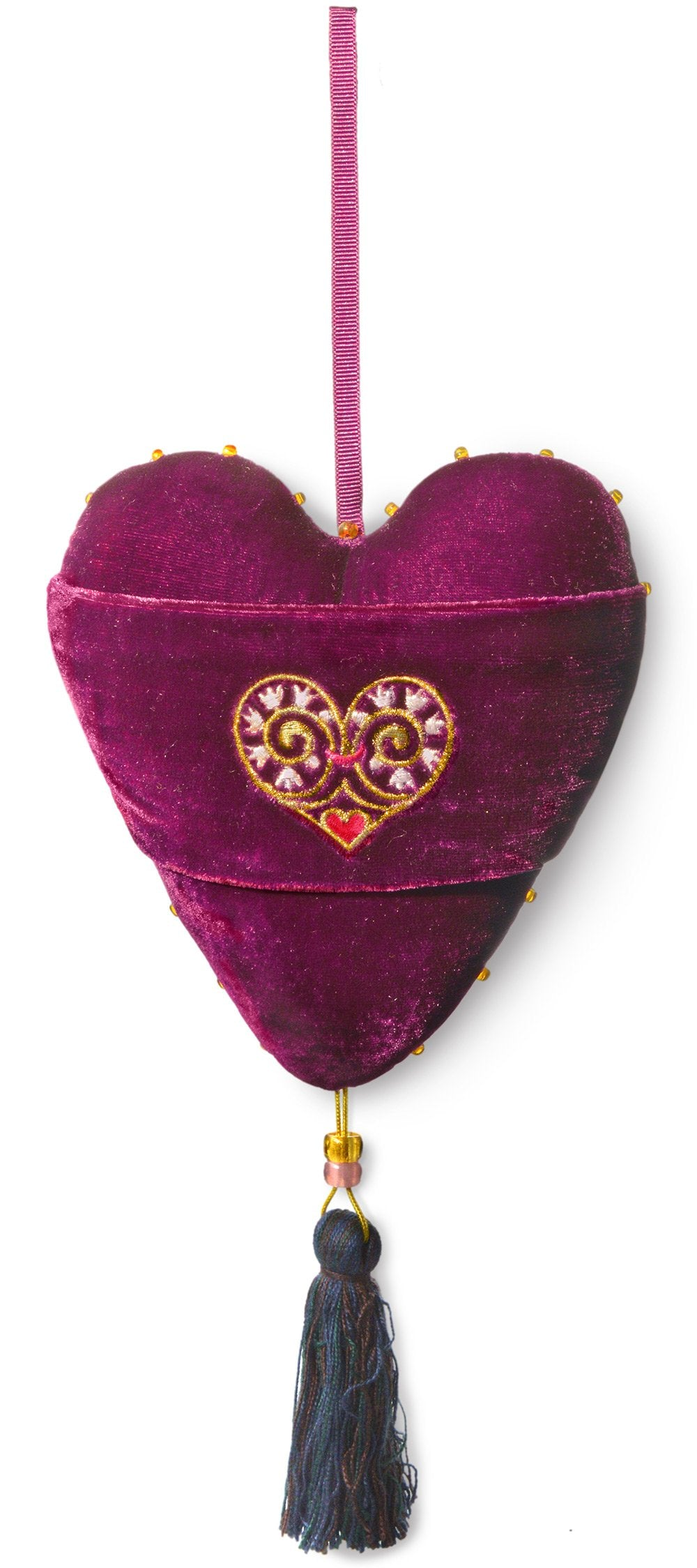 love is enough, love heart, stuffed heart, embroidered love heart, charm, spell, hanging charm