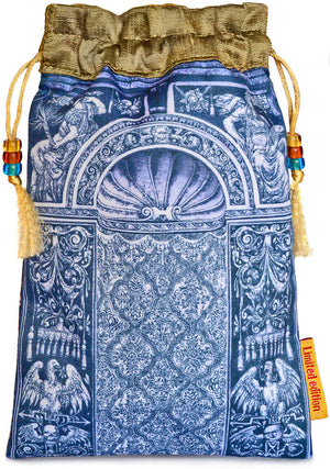 Tarot of Prague limited edition bag in Knight of Wands print. - Baba Store EU - 2