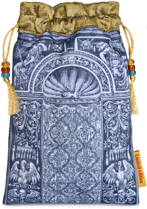 Tarot of Prague limited edition bag in Two of Cups print. - Baba Store EU - 2