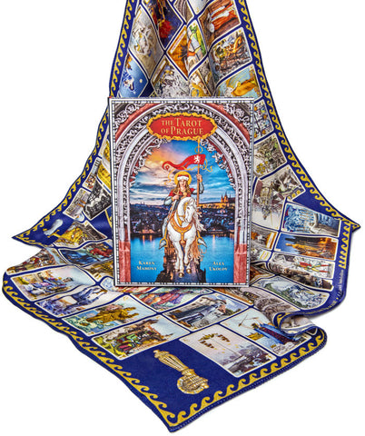 The Tarot of Prague. Limited edition LARGE FORMAT. Temporarily unavailable.