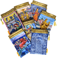 Tarot of Prague limited edition bag in Two of Cups print. - Baba Store EU - 3