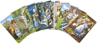 Set of ten illustrations from The Alice Tarot - Baba Store
