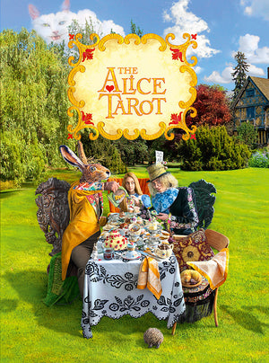 The Alice Tarot companion book, baba studio, Alice in Wonderland tarot cards