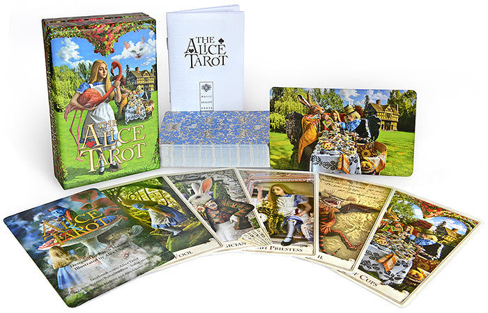 The Alice Tarot deck by Baba Studio