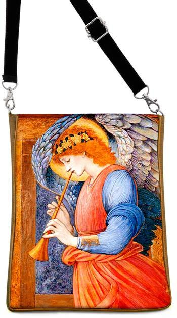 Angel with Trumpet — Burne Jones, gold version - Baba Store - 1