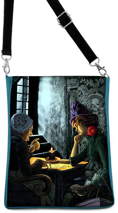 The Tarot Reader, Bohemian Gothic, teal version - Baba Store - 1