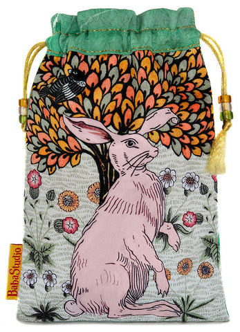 De Morgan Hare — limited edition with vintage silk kimono