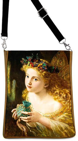 The Fair Face — Victorian fairy picture by Sophie Anderson, gold version - Baba Store - 1