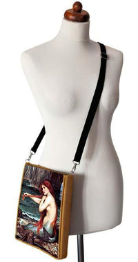 The Mermaid by William Waterhouse, gold version - Baba Store - 2