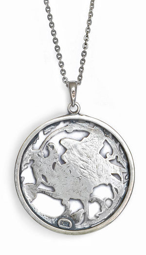 Phoenix Rising, sterling silver pendant - Baba Store EU - 3