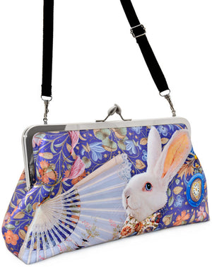 The White Rabbit, lavender, 10 inch size in dupion - Baba Store EU - 6
