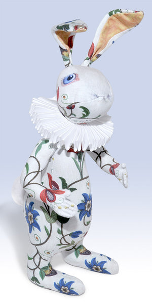 "The White Rabbit ""Dreams of Flora"" art doll — One off - Baba Store EU - 1"