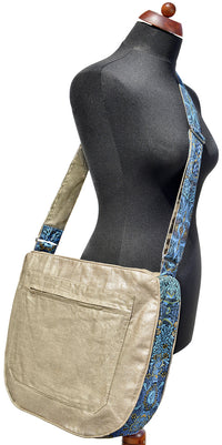 Butterfly Belle - Big slouchy bag. Slight Seconds.