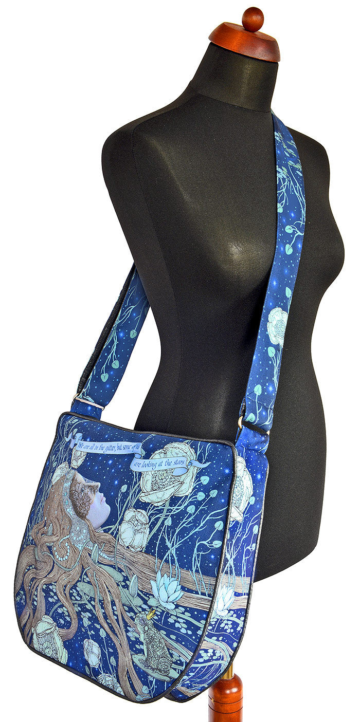 "Looking at the Stars — ""Oscar Wilde"" Big slouchy bag - Baba Store EU - 2"