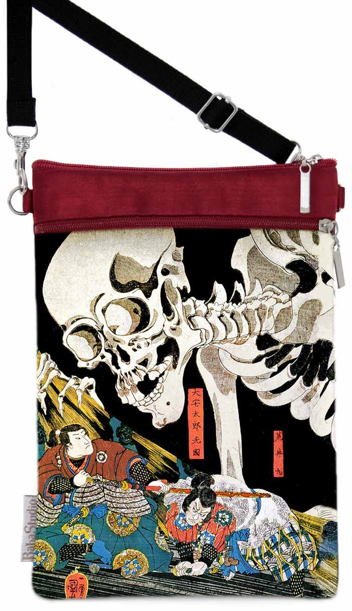 Standing Against the Skeleton, crimson red version - Baba Store - 1