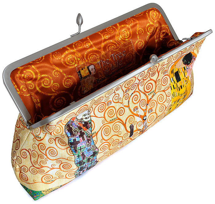 The Tree of Life, Gustav Klimt pictures, 10 inch size in dupion - Baba Store EU - 4