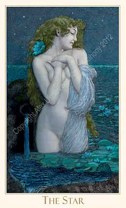 Victorian Romantic Tarot, second edition 2012 standard-sized deck