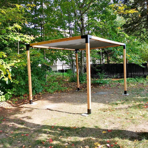 include in the simple pergola kit